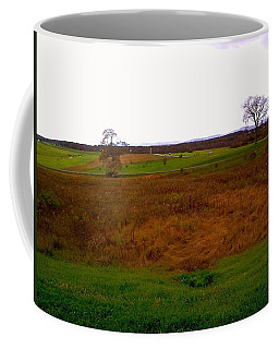 The Battlefield Of Gettysburg Coffee Mug
