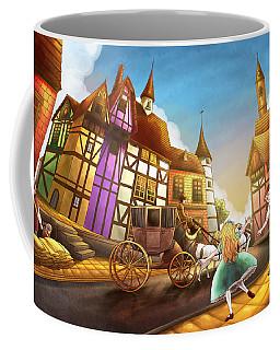 The Bavarian Village Coffee Mug by Reynold Jay
