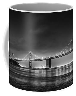 The Bay Bridge Monochrome Coffee Mug