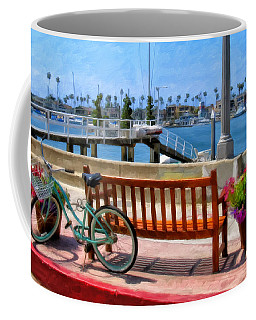 The Beach Cruiser Coffee Mug