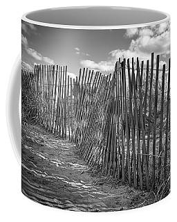 The Beach Fence Coffee Mug