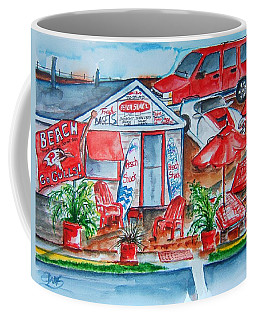 The Beach Shack Coffee Mug