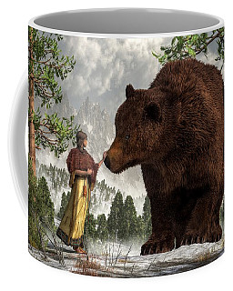 The Bear Woman Coffee Mug