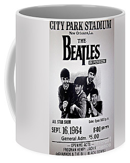 The Beatles Circa 1964 Coffee Mug