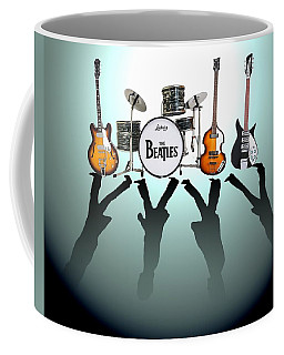 Beatles Rock Coffee Mugs