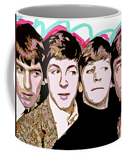 The Beatles Love Coffee Mug