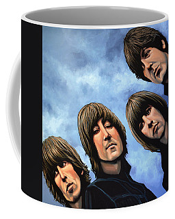 The Beatles Rubber Soul Coffee Mug
