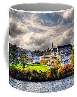 The Beautiful Sagamore Hotel On Lake George Coffee Mug