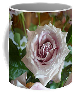 Coffee Mug featuring the photograph The Beauty Of A Flower by Jim Fitzpatrick