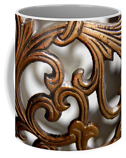 The Beauty Of Brass Scrolls 1 Coffee Mug