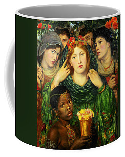 Coffee Mug featuring the painting The Beloved Bride  by Dante Gabriel Rossetti