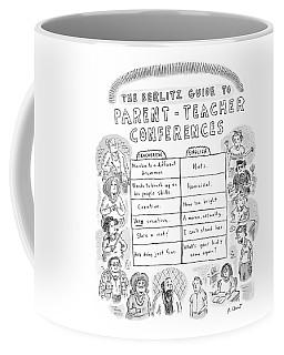 'the Berlitz Guide To Parent-teacher Conferences' Coffee Mug
