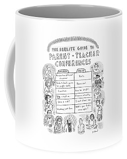 'the Berlitz Guide To Parent-teacher Conferences' Coffee Mug