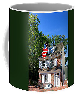 The Betsy Ross House Coffee Mug