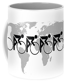The Bicycle Race 3 Coffee Mug