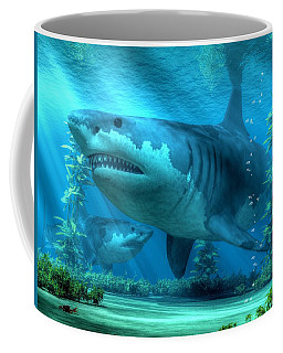 The Biggest Shark Coffee Mug