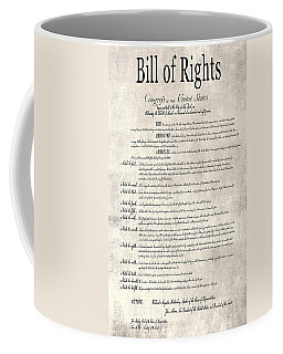 The Bill Of Rights Parchment Coffee Mug