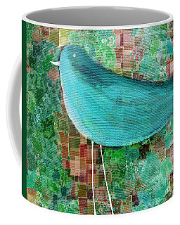 The Bird - 23a1c2 Coffee Mug by Variance Collections
