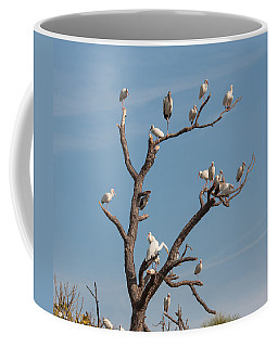 Coffee Mug featuring the photograph The Bird Tree by John M Bailey