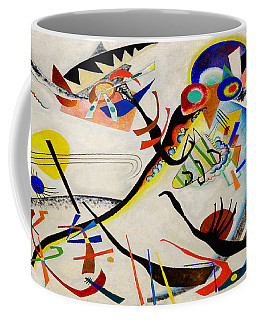 Coffee Mug featuring the painting The Bird by Wassily Kandinsky