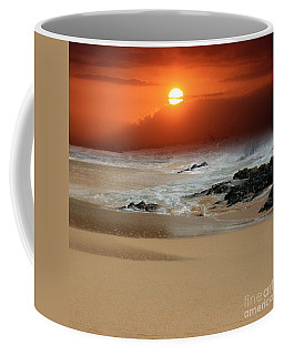 The Birth Of The Island Coffee Mug