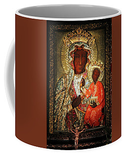 The Black Madonna Coffee Mug by Mariola Bitner