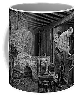 The Blacksmith Monochrome Coffee Mug