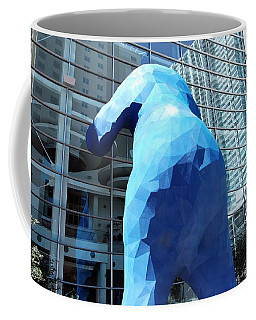The Blue Bear Coffee Mug