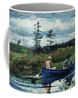 The Blue Boat Coffee Mug