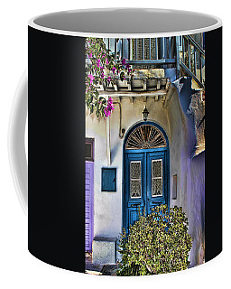 The Blue Door-santorini Coffee Mug