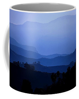Coffee Mug featuring the photograph The Blue Hills by Matt Harang
