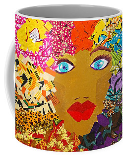 The Bluest Eyes Coffee Mug by Apanaki Temitayo M