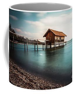 The Boats House II Coffee Mug