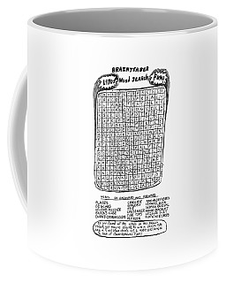 The Brainteaser Word Search Coffee Mug
