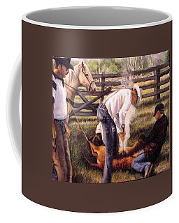The Branding Coffee Mug by Donna Tucker