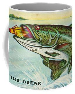 Coffee Mug featuring the digital art The Break by Cathy Anderson