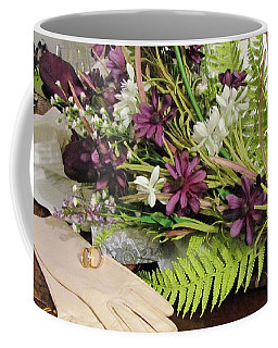 Coffee Mug featuring the photograph The Bride To Be by Cynthia Guinn