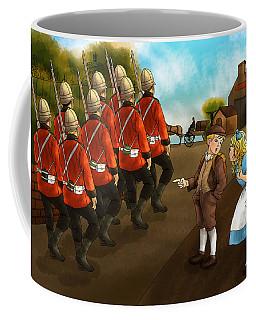 The British Soldiers Coffee Mug by Reynold Jay