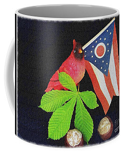 Coffee Mug featuring the photograph The Buckeye State by Charles Robinson