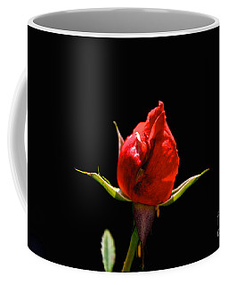 Coffee Mug featuring the photograph The Bud by William Norton