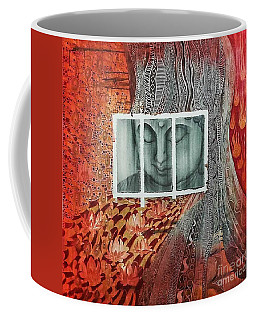 The Buddhist Color Coffee Mug by Fei A