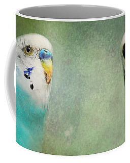 The Budgie Collection - Budgie Pair Coffee Mug