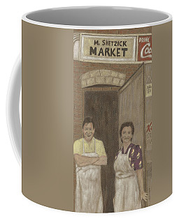 The Butcher And His Wife  Coffee Mug