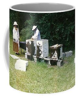 Coffee Mug featuring the photograph Louisiana Honey Bees by Michael Hoard