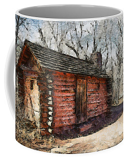 The Cabin Coffee Mug by Ernie Echols