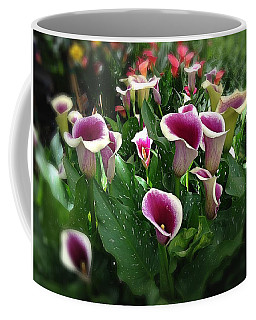 The Calla Lilies Are In Bloom Again Coffee Mug