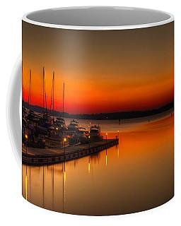 Coffee Mug featuring the photograph The Calm by Serge Skiba