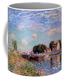 The Canal At Saint-mammes Coffee Mug by Alfred Sisley