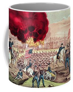 The Capture Of Atlanta By The Union Army Coffee Mug