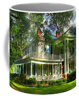 A Southern Bell The Carlton Home Art Southern Antebellum Art Coffee Mug